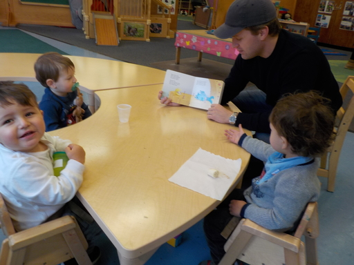 Toddler II Guest Readers