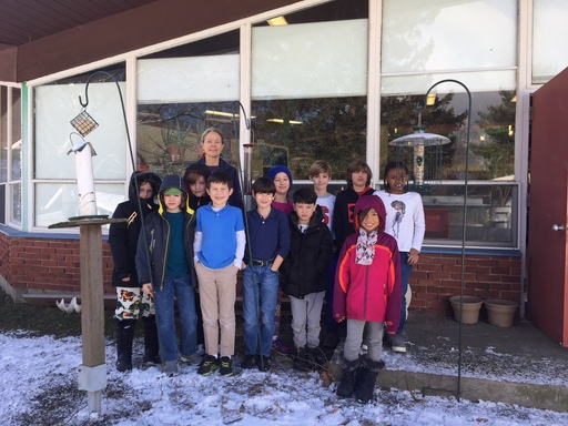 4th Grade Science Class Wins Project FeederWatch Prize!